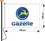 Vlag GAZ 100x150cm