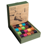 Brooks display met 20 stuks broekklemmen sorti kleur