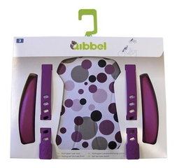 Qibbel Stylingsset Luxe Achter Dots Purple