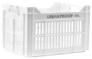 Urban Proof fietskrat 30 liter White Recycled